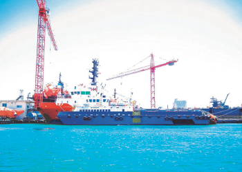 Through modernisation, Basrec has boosted dry docking capacity