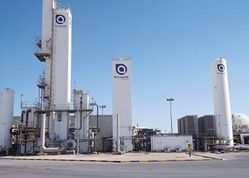ALAR hydrogen production site in Yanbu