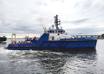 The Four Leopards will be deployed from Belovís DSV fleet