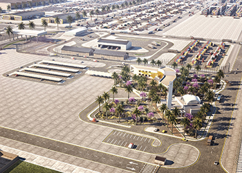The dry port and logistics zone at Spark