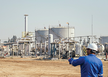 The El Wastani Gas Plant located in the Nile Delta near Damietta