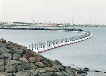 A HALO marine barrier