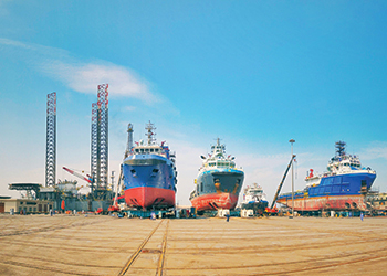 The Zamil Shipyards division has a highly skilled team